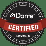 Dante Certified Level 3 Seal